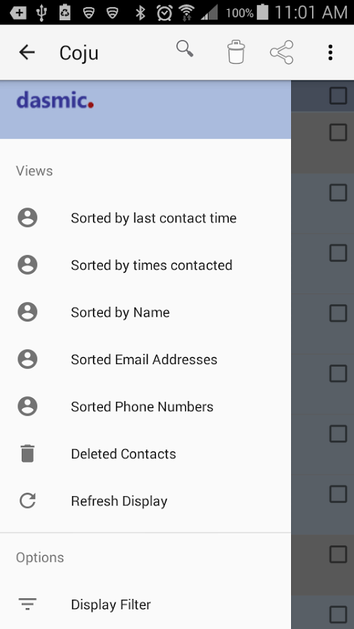 Contacts App (Lite)- screenshot