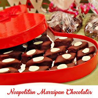 Neapolitan Marzipan Chocolates
