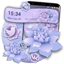 Beautiful Lotus Flower Launcher Theme Download on Windows