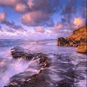 Wavy Rock Waterfall LWP icon