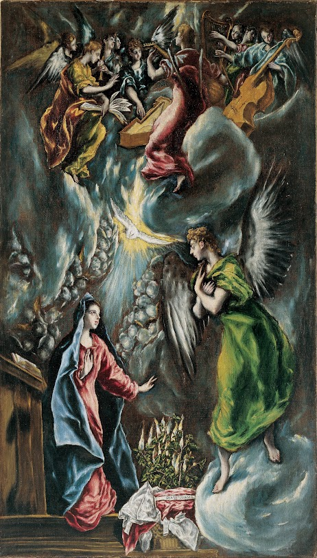 Article and analysis of El Greco's AnnunciationGreat analysis of El Greco's Annunciation, provides context, bio, and more. Perfect for Art History educators looking for more education, or for those teaching Classical Coversations Cycle 1, or Story of the Worlds Renaissance volume. #kellybagdanov #homeschool #homeschooling #arthistory #arthistoryresource #charlottemasonresource #classicalconversationresource #sonlightresource #storyoftheworldresource #CC Cycle 1