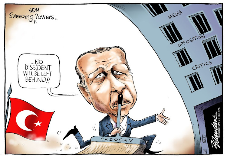 Image result for ERDOGAN CARTOON