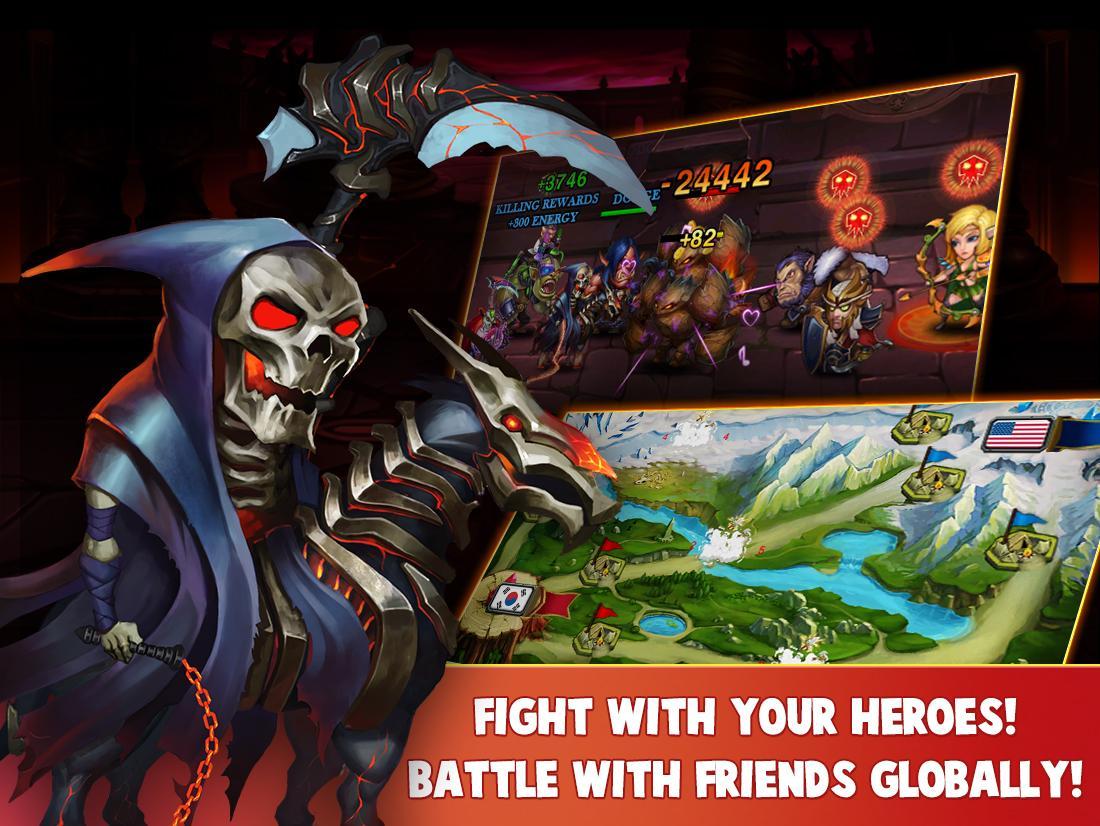 Heroes Charge screenshot #4
