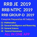 RRB NTPC & RRC Group-D 2019 Complete Preparation icon