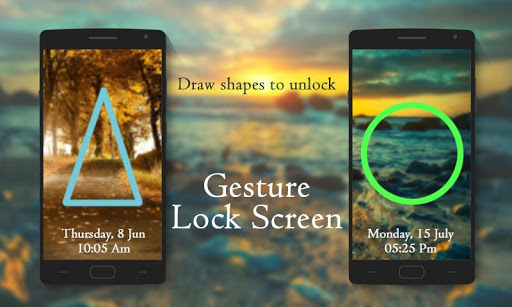 Gesture Signature Lock Screen