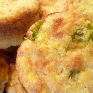 Hatch Chile Cornbread Muffins