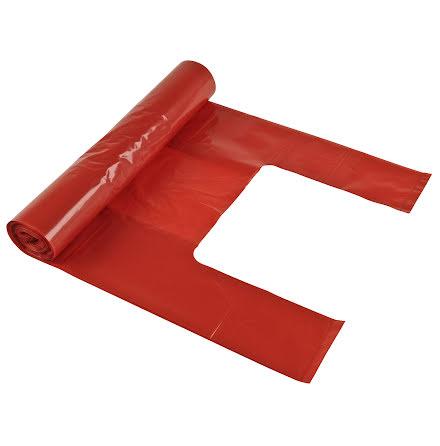 Soppåse Polyprima röd 25/rl