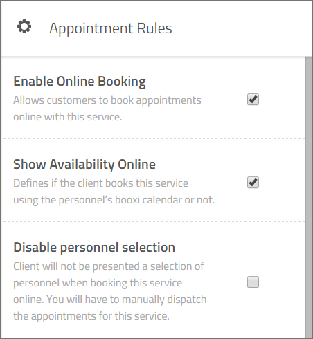 appointment rules