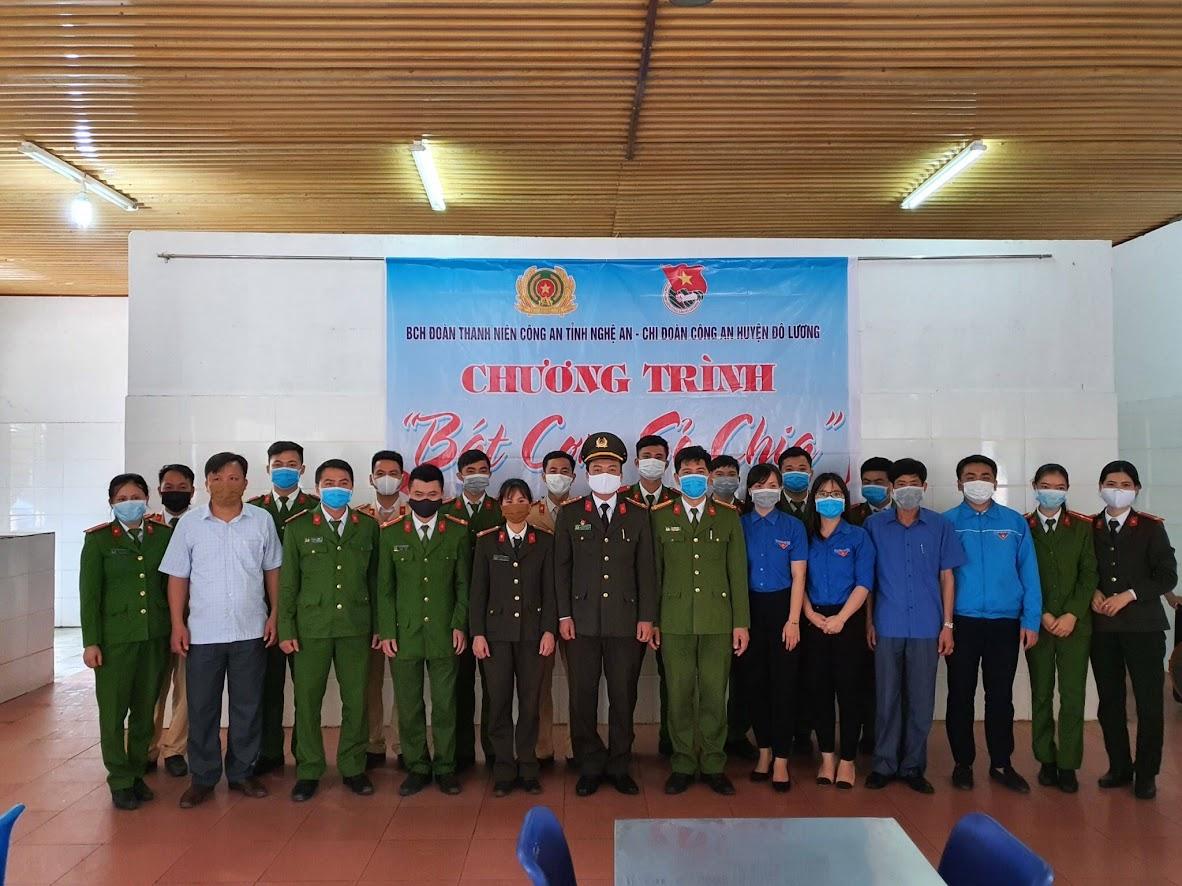 Đây là hoạt động thường xuyên của CBCS Công an huyện Đô Lương
