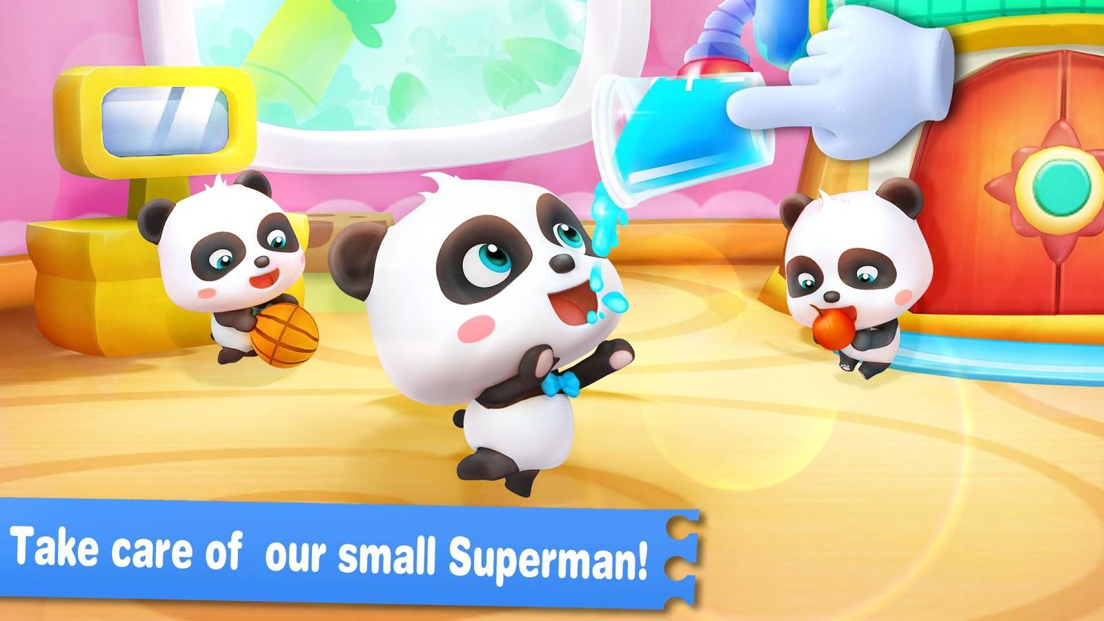 Baby Panda Learns Alphabet- screenshot