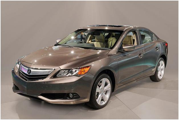 Photo: The Acura ILX concept version was released at the 2012 Detroit Auto Show in January
