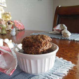 Mocha Chocolate Chip Oatmeal Cookies.