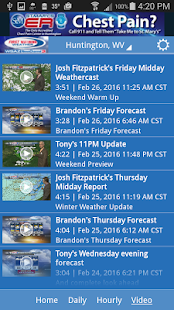WSAZ Weather- screenshot thumbnail