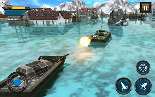 Army Tank Battle War On Water : Armoured Vehicle apkpoly screenshots 6