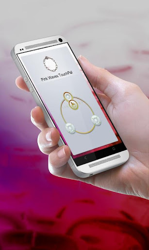 無料个人化Appのピンク波Pinku nami TouchPal|HotApp4Game