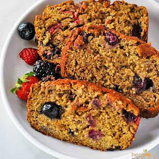 Berry Banana Bread.
