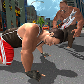 Real Hunk Big Man Fighting 3D