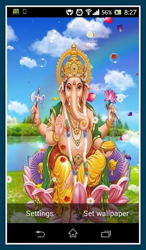 Lord Ganesh Live Wallpaper