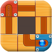 Slide Puzzle Maze - Unblock to Roll the Ball