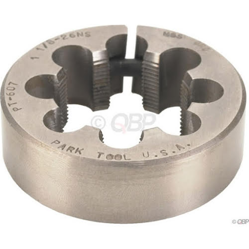 """Park Tool 607, 1-1/8"""" x 26 tpi Threaded Die Only for FTS-1"""