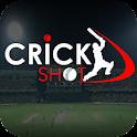 Crickshot Live Cricket Scores icon