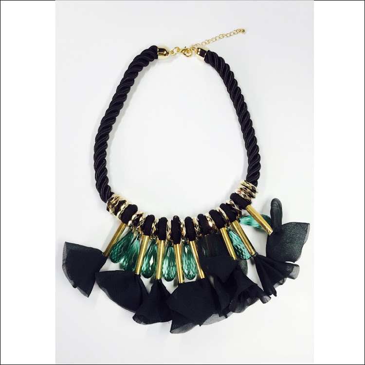 N042 - M. Greenlit Blast Necklace by House of LaBelleD.