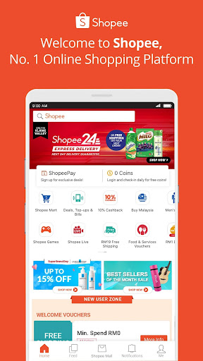 Shopee #1 Online Platform 2.58.11 screenshots 1