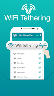 Tethering for WiFi Master Key - náhled
