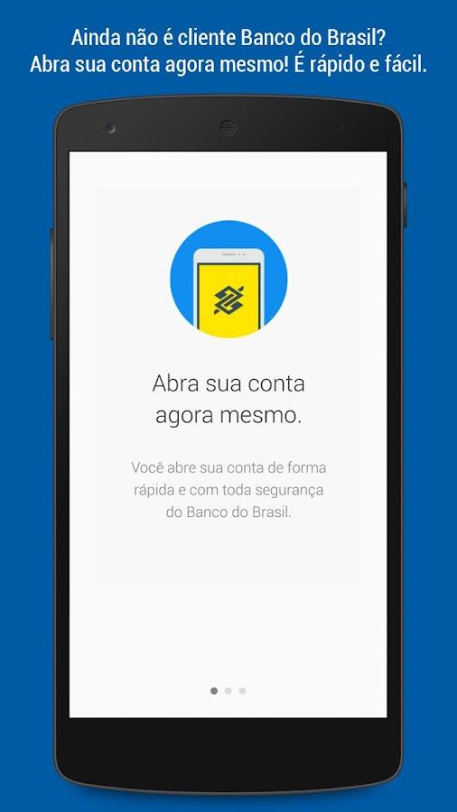 Screenshots of Banco do Brasil for iPhone