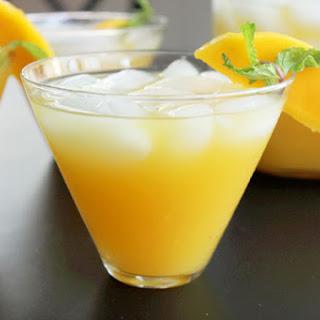 Mango Ginger Green Tea Iced