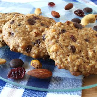 Happy Trekking Trail Mix Oatmeal Cookies.