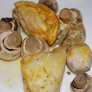 Chicken and Mushroom Tagine Recipe