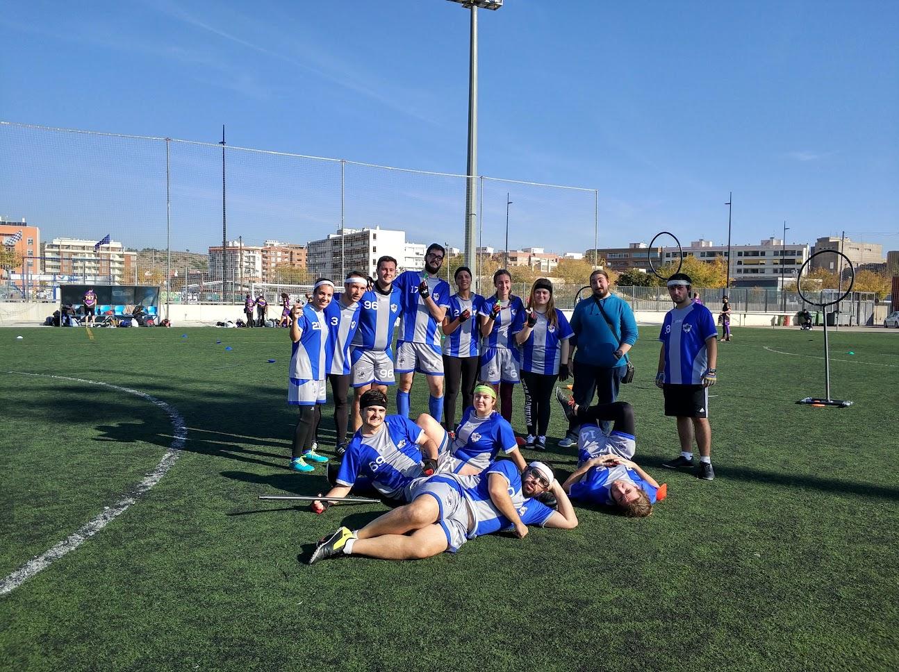 Foto del equipo tras la Copa