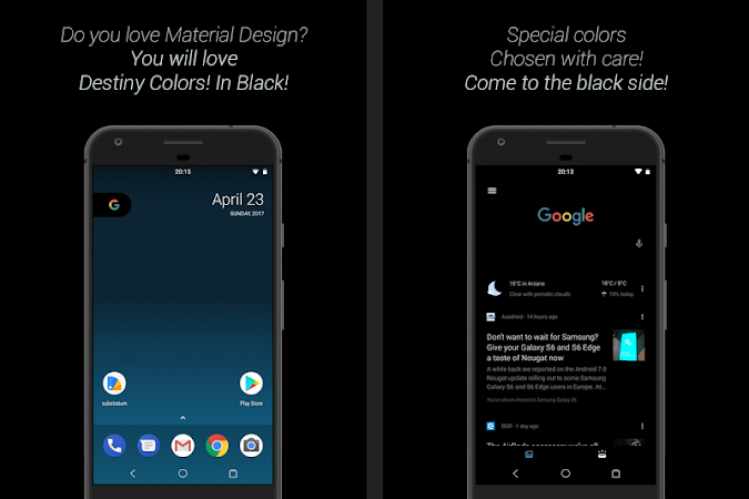 Substratum DestinyBlack Theme v15 [Patched]
