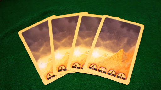 考古学カードゲーム:砂嵐カード