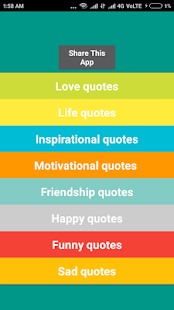 Mr Quotes - a 2MB App - náhled
