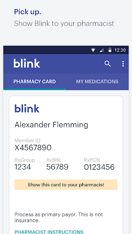 Screenshots for Blink Health