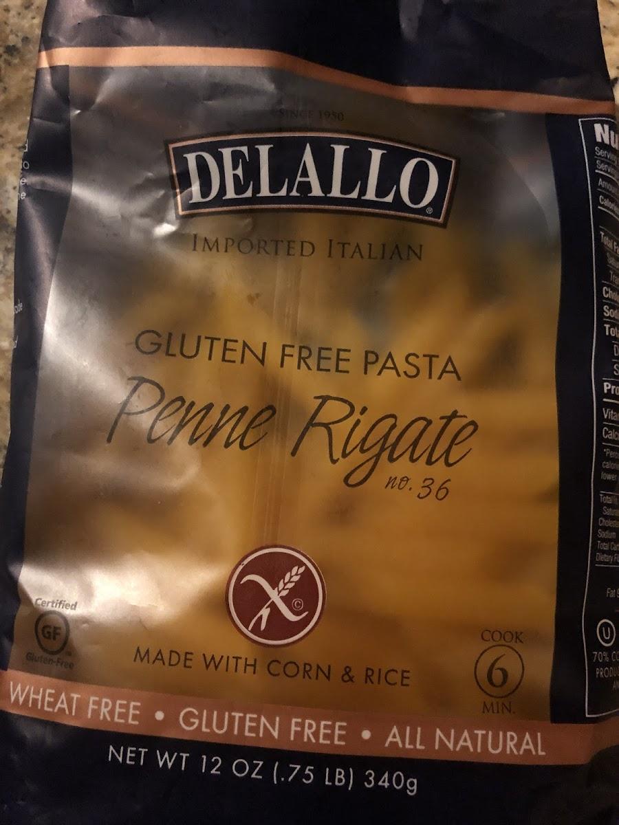 Gluten Free Penne Rigate