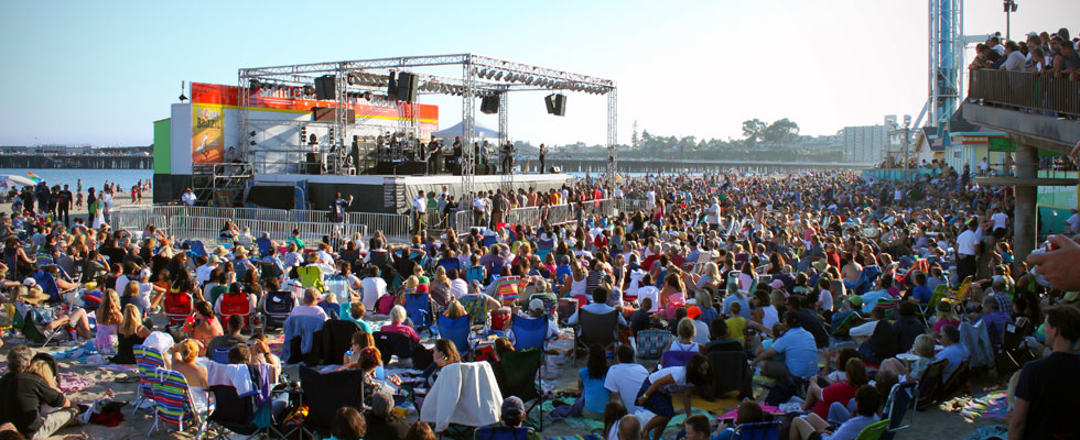 Image result for santa cruz concerts on the beach