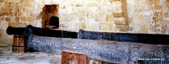Photo: Larnaca. Bezoek aan het voormalige Turkse fort | Visit to a former Turkish fort.