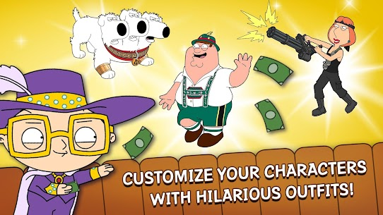 Family Guy The Quest for Stuff MOD 1.67.1 (Free Shopping) Apk 5