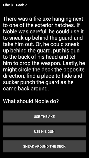 Noble Man (Text Adventure RPG)