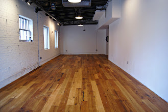Photo: A new showroom project that we just finished the floor on, and are in the process of completing.