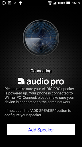 audio pro control screenshot 1