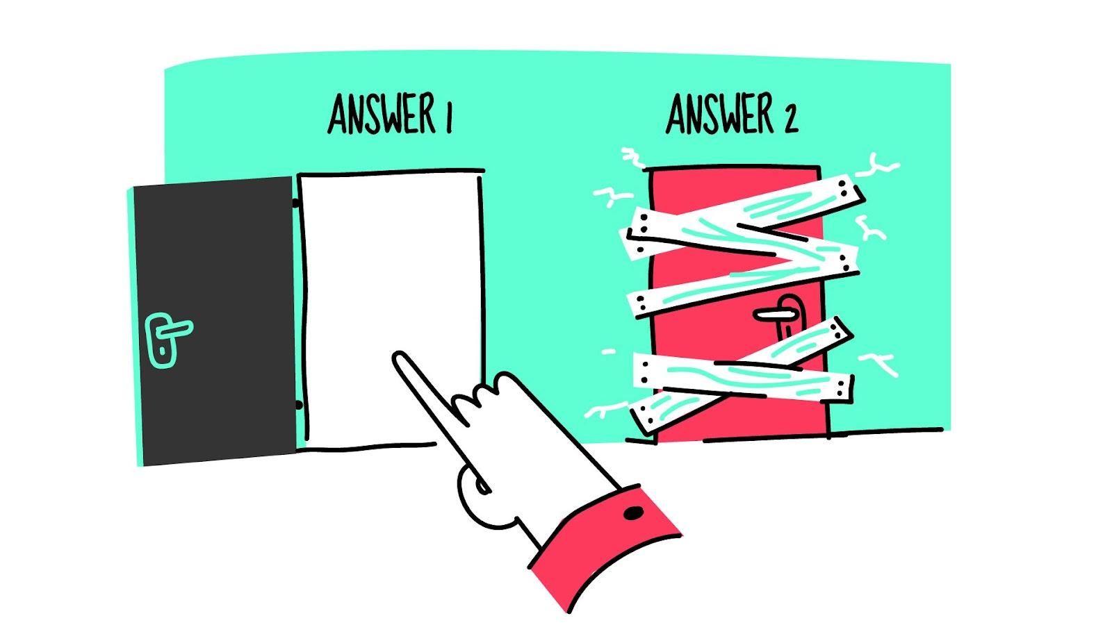 Don't ask leading survey questions