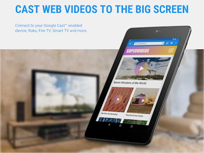 Web Video Cast | Browser to TV (Chromecast/DLNA/+) – Vignette de la capture d'écran