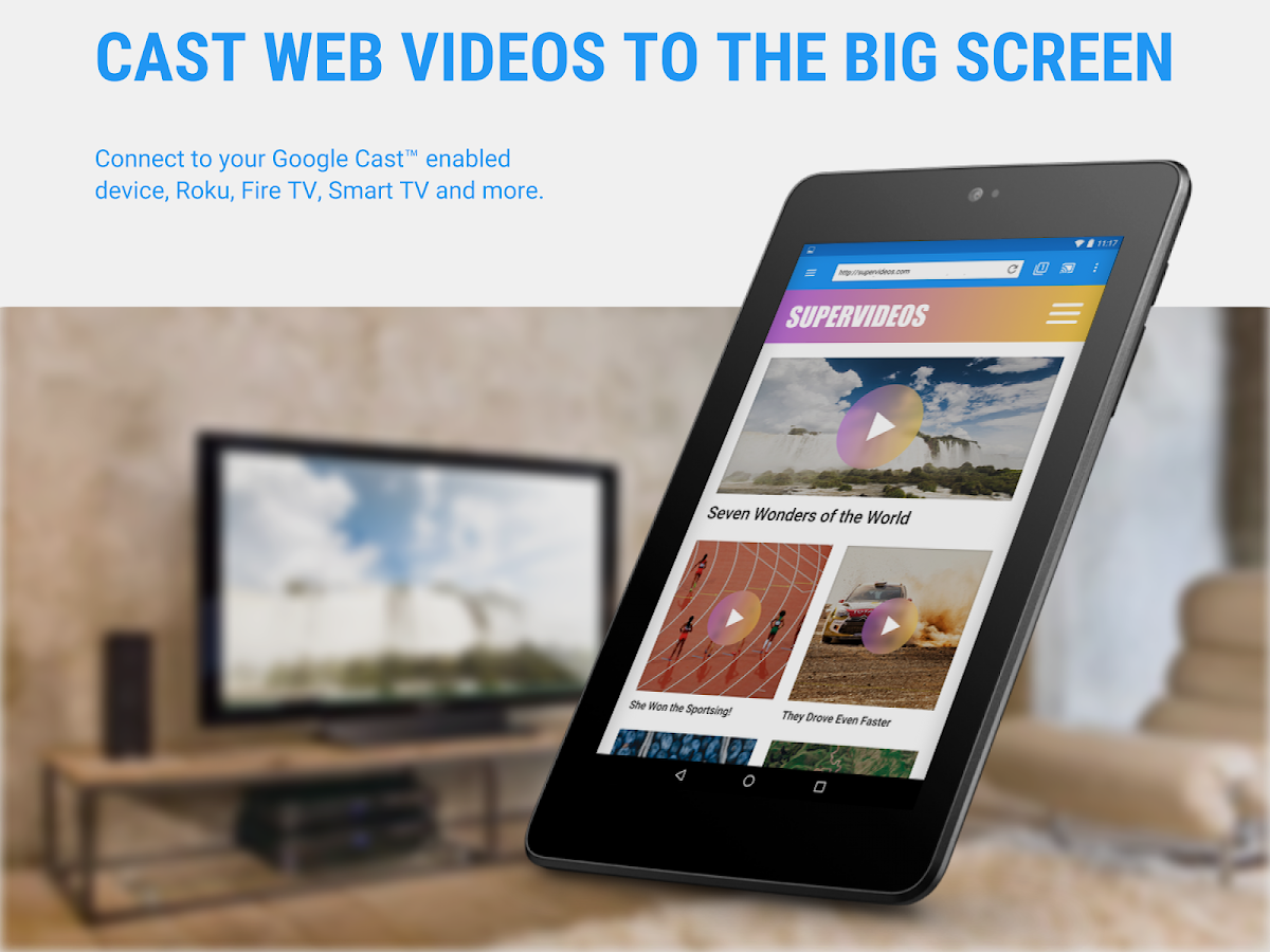 Web Video Cast | Browser to TV- screenshot