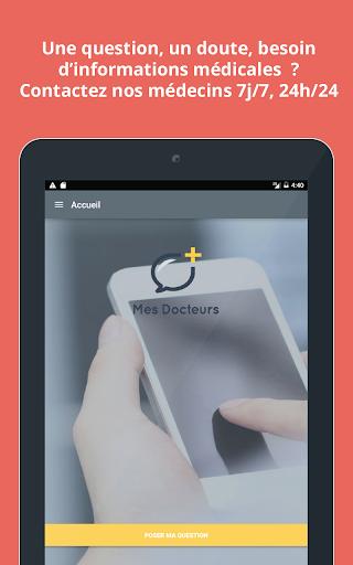 MesDocteurs: médecins en ligne screenshot 7