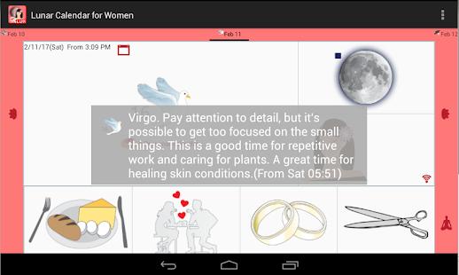 Lunar Calendar for Women Lux - náhled