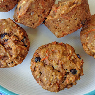 Healthy Morning Glory Muffins.